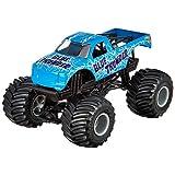 Hot Wheels Monster Jam Blue Thunder Die-Cast Vehicle, 1:24 Scale