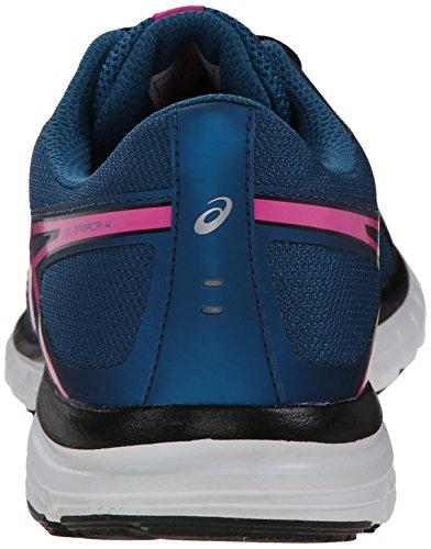 4 Course Chaussures Femmes Zaraca 6 Onyx Mosaïque Bleu Asics De Gel Nous Lueur Rose M 5IqZwfw