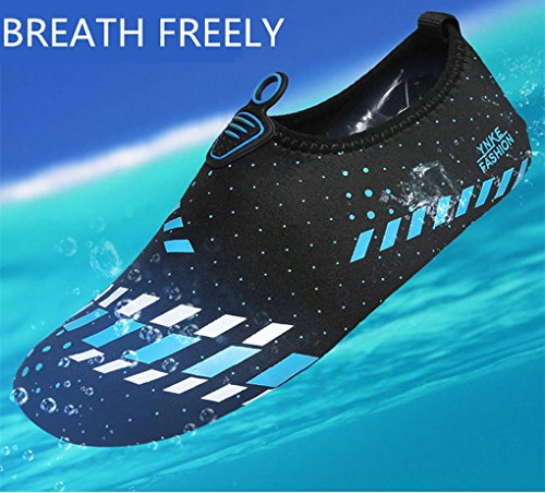 Blue Unisex Shoes Surfing Water Slippers Dovaly Swimming Beach Skiing Shoes Seaside Yoga qnPdZvdW