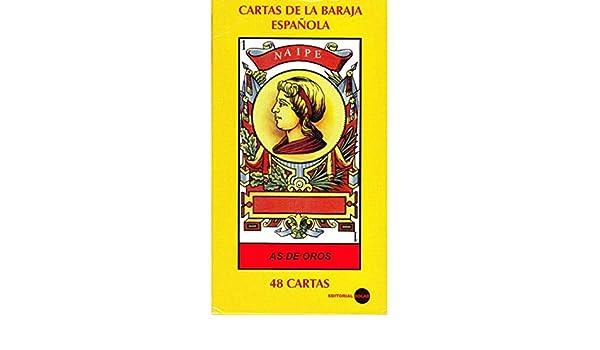 CARTAS DE LA BARAJA ESPANOLA 48 cartas Naipe: ANONIMO ...