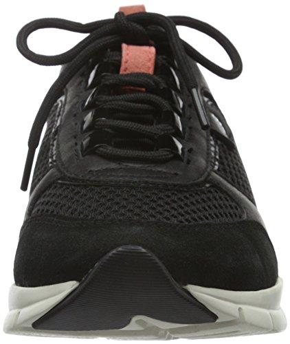 B para Mujer Schwarz Sukie Geox D BLACKC9999 Zapatillas 4qfAAO