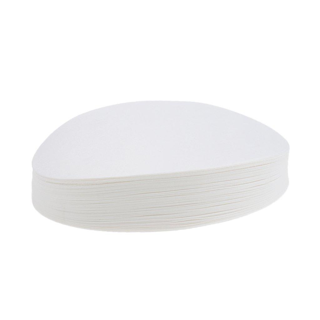 Homyl 100x Cercles Lab Disques Papier Filtres de Laboratoire Quantitatifs Rapides - 7cm