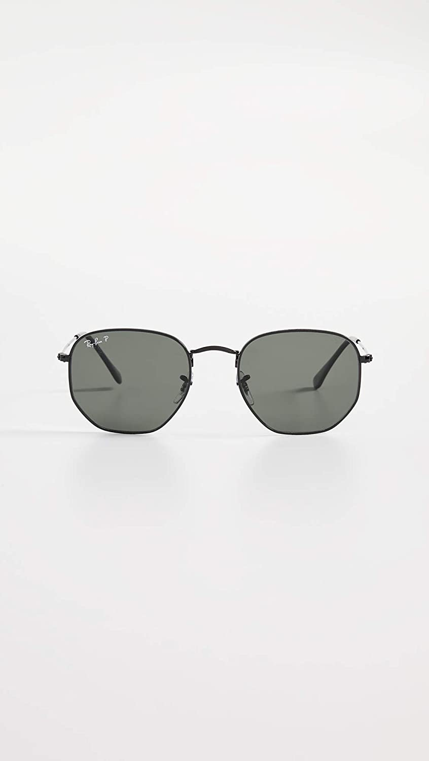 Ray-Ban Mens RB3548N Hexagonal Sunglasses