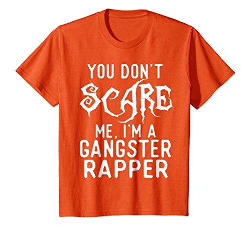 Kids Funny Gangster Rapper Shirts Halloween Costume Joke