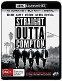 Straight Outta Compton 4K UHD Blu-ray / Blu-ray   NON-USA Format   Region B Import - Australia