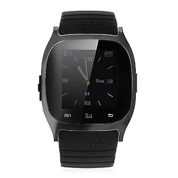 Digital Bluetooth reloj – rwatch Digital Bluetooth reloj LED Light pantalla con elección/CALL respuesta