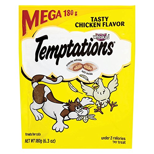 Temptations Classic Cat Treats Tasty Chicken Flavor, (10) 6.3 Oz. - Treat Nutritious