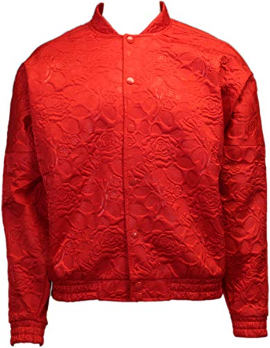 (adidas Originals Women's Fashion Casual Track Jacket Vivid Red ay6733 (Size L))