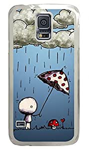 Love Story 2 Clear Hard Case Cover Skin For Samsung Galaxy S5 I9600