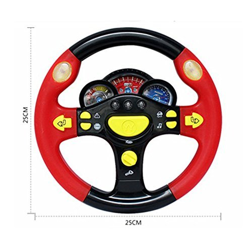 CCXZXF Turn and Learn Driver Kids Driving the Steering Wheel - with Music, Various Driving Sounds by CCXZXF (Image #3)