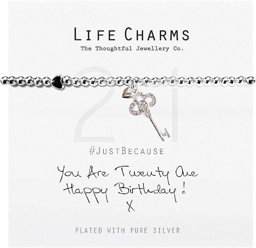Life Charms Happy Birthday Bracelet
