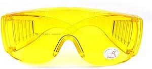 Nikauto 1Pcs Car Air Conditioning Leak Detector UV Protection Glasses