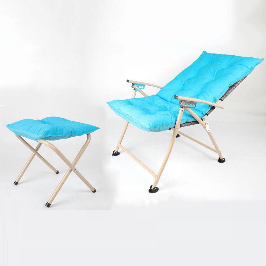 Klappstuhl Justierbarer Kampierender Stuhl Mit Fuß-Rest Für Schwere Leute, Braun-faltender Aufenthaltsraum-Schemel Seat for Home Patio Im Freien