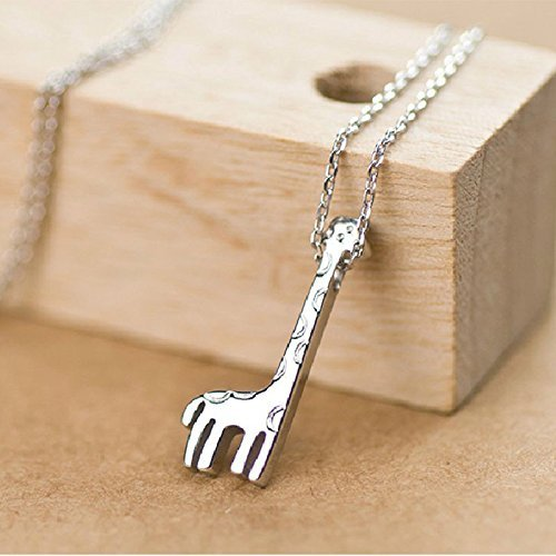 Solid Material Female Very Nice Clavicle Chain Lovely Giraffe Necklace WelcomeShop