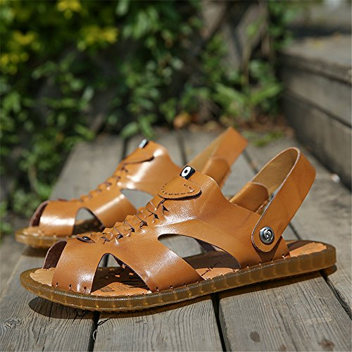 Slippers Leather Ruiyue Leather Ruiyue Slippers Beach Ruiyue Beach qwdzz6p