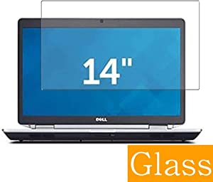 """Synvy Tempered Glass Screen Protector Compatible with DELL Latitude 14 E6430s 14"""" Visible Area Protective Screen Film Protectors 9H Anti-Scratch Bubble Free"""