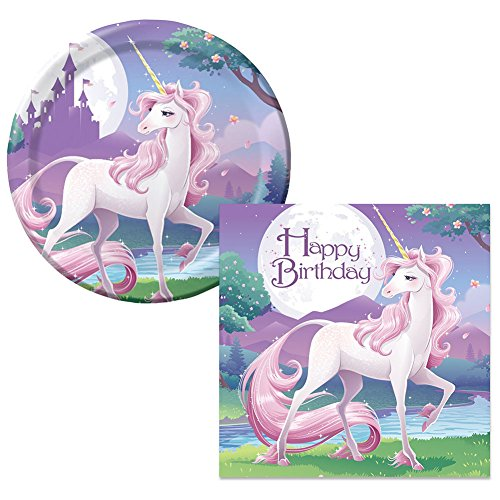 Unicorn Fantasy Party Supplies Pack