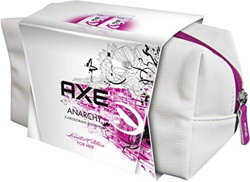 Axe regalo Pack Anarchy for Her: 2 x Body Spray y estuche para dama: Amazon.es: Belleza