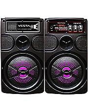 Sub woofer 4 inches Bluetooth with usb , tf , radio fm , led , mic