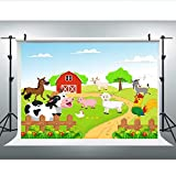 Maijoeyy 7x5t Children Baby Backdrop Farm Backdrop Sweet Animals Props for Photography Birthday Party Studio 314408162