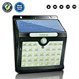 Cheap Esenvis Solar Lights Outdoor, Solar Motion Sensor Lights 33 LED Wireless Solar Powered Waterproof Security Wall Lights for Patio, Deck, Yard, Garden, Step, Driveway