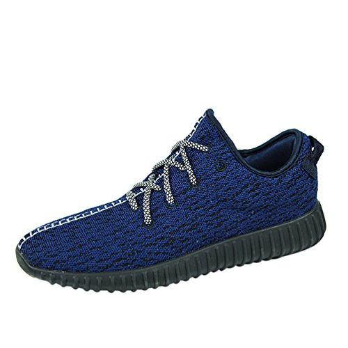 Passionow Men's Fashion Sneaker Fly Kniting Athletic Exercise Running Shoes (9.5 - Seattle Macys