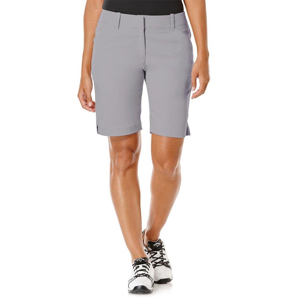 Callaway Women's Golf Performance 19'' Woven Shorts, Quiet Shade, Size 4 by Callaway