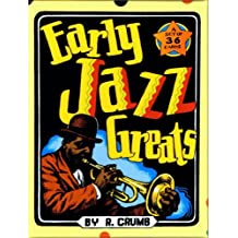 Early Jazz Greats Boxed Trading Card Set by R. Crumb