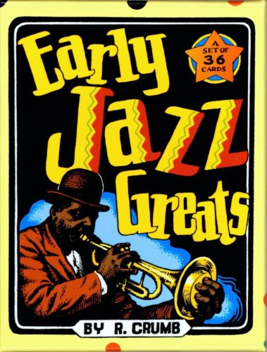 Early Jazz Greats Boxed Trading Card Set by R. Crumb by Robert Crumb