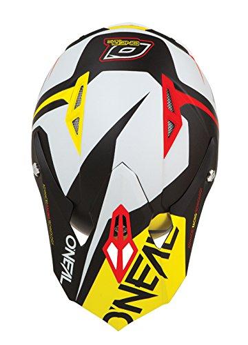 ONeal 10 Series Flow Off-Road Helmet Visor (Red/Yellow,
