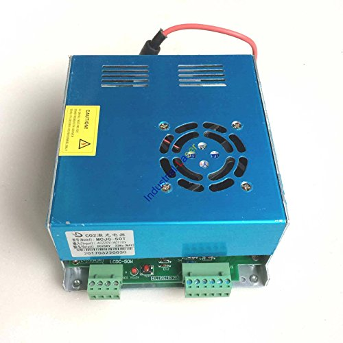 40W 50W CO2 Laser Power Supply for CO2 Laser Engraver Cutter MYJG-50 110V / 220V by COLE