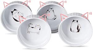 Cinf Ramekins Cat 10oz Cinf Porcelain 10 oz. Ramekins Baking Cup Bowls Dishes, Set of 4,Souffle Cups Dishes, Creme Brulee, Custard Cups,Desserts,Oven,Microwave,Freezer and Dishwasher Safe