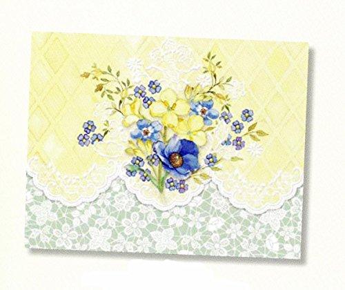 Carol's Rose Garden Sunny Bouquet Portfolio Blank 10 Card Set
