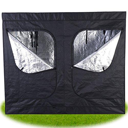 Giantex indoor grow tent room reflective mylar hydroponic for Indoor gardening reflective material