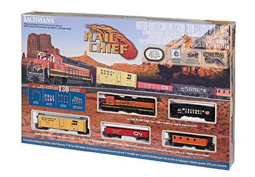 Chief Electric Train Set 130 Pieces ()