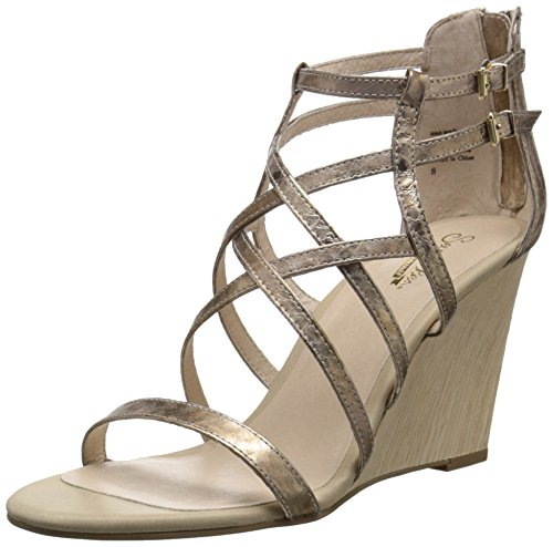 Seychelles Women's Illustrious Wedge Pump, Rose Gold, 9.5 M US (Shoes Seychelles Womens Wedge)