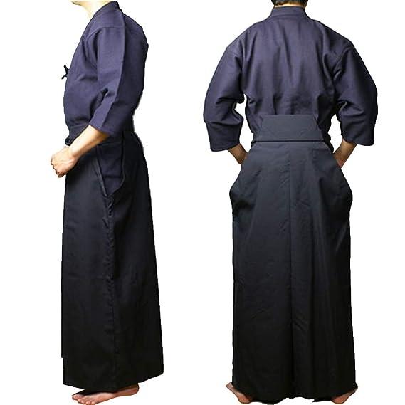 Amazon.com: Traje de ropa japonés Kendo Aikido Samurai ...
