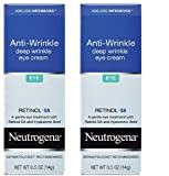 Neutrogena Ageless Intensives Eye Cream, Deep Wrinkle, 0.5 Oz / 14 G (Pack of 2)