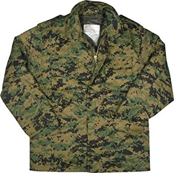 cd6f819271c18 Amazon.com: Camouflage Field Jackets Woodland Digital Camo: Military ...