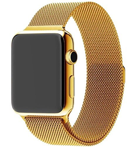 42MM Apple Watch plated Milanese