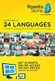 Learn Languages: Rosetta Stone 12 Month Online Subscription
