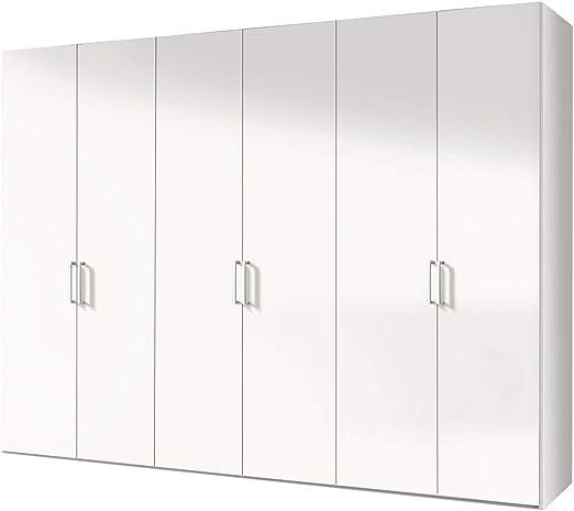 Soluciones 17300 070 Puerta corredera Armario con 6 Puertas Polar, ártico Blanco, Frontal: Amazon.es: Hogar