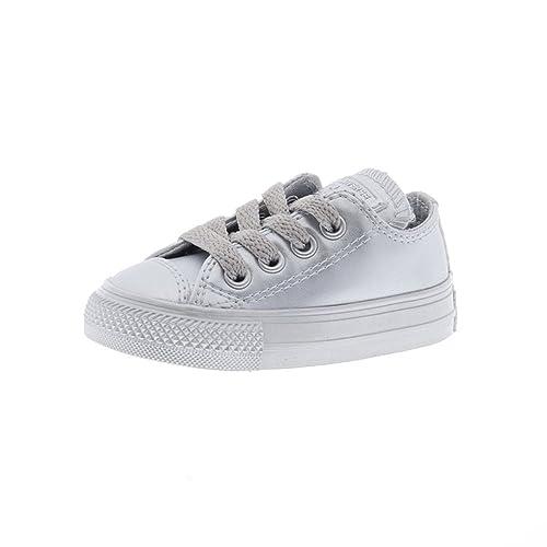 970a478517ca Converse Toddler CTAS Ox Metallic Silver - uk9 Toddler  Amazon.co.uk  Shoes    Bags