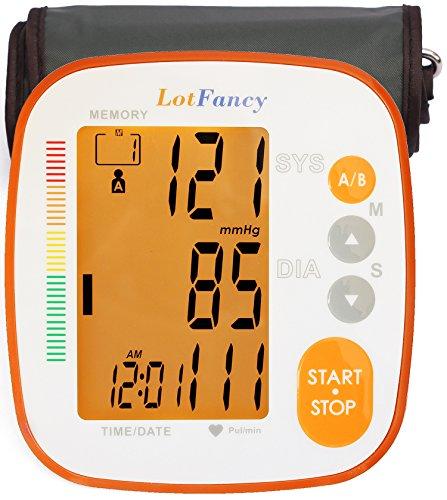 LotFancy Blood Pressure Monitor, Digital BP Machine - Automa