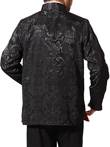 c293c9505 Bitablue Men's Rayon-Blend Reversible Chinese Shirt - Buy Online in ...