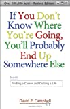 If You Don't Know Where You're Going, You'll Probably End up Somewhere Else, David P. Campbell, 1933495065