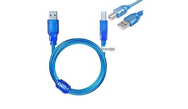 DHERIGTECH Cable de Datos USB para Impresora Canon Pixma ...