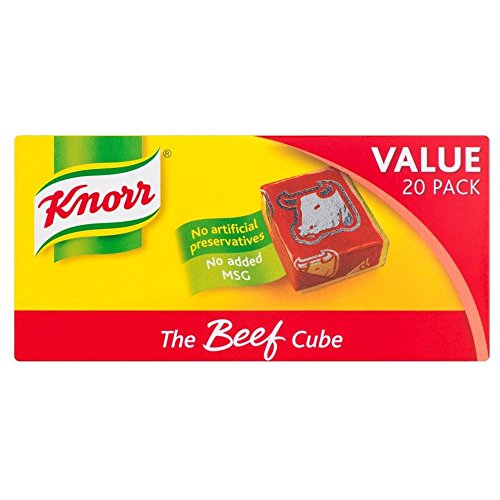Knorr Stock Cubes Beef (20x10g) - Pack of 6 by Knorr