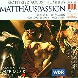 Homilius: Matthäuspassion (St. Matthew Passion)