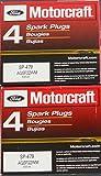 Set of 8 Motorcraft Ignition Coils DG-508 and 8 Motocraft Spark Plug SP479